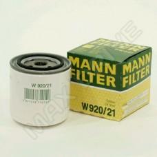 Фильтр масляный ВАЗ 2101 MANN оригинал W920/21