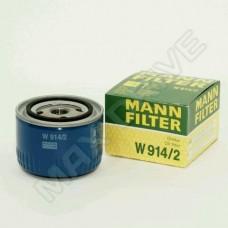 Фильтр масляный ВАЗ 2108 MANN оригинал (W914/2)