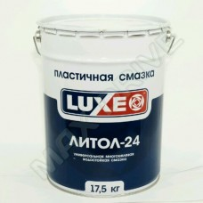 Литол-24 смазка 17,5 кг LUXE
