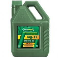 ТАД17 трансм.масло GL5 (ТМ 5-18)    1л. OIL RIGHT 2710198700