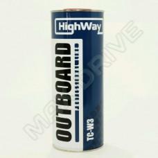 HighWay масло моторное  минеральное 2Т OUTBOARD TC-W3 1л