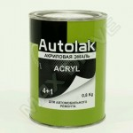 AUTOLAK АКРИЛ 1035 Золотисто-желтый (0,8кг)