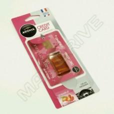 Освежители AROMA Car Credit Card Grapefriut