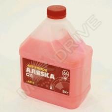 Антифриз Аляска -40 G11 red 3кг